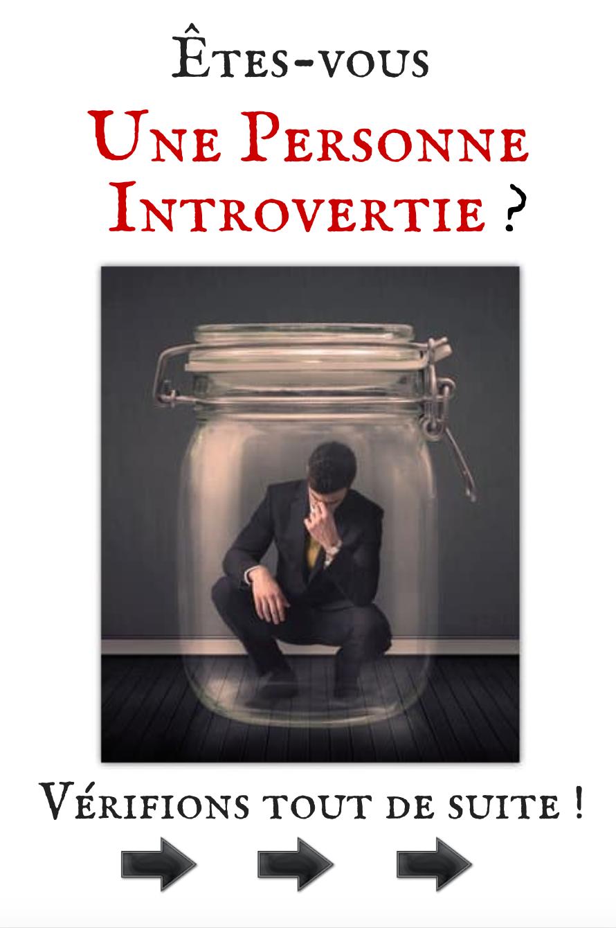 Êtes-vous une Personne Introvertie?