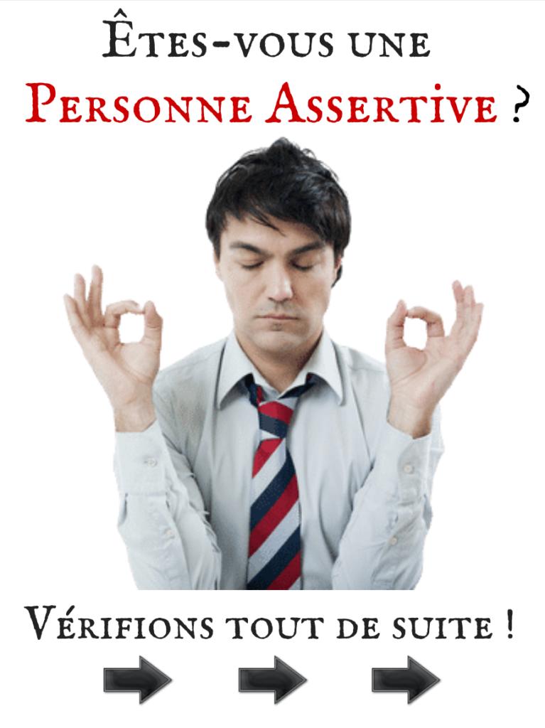 Le TEST de l'Assertivité